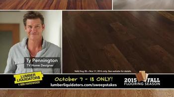 Lumber Liquidators 2015 Fall Flooring Season TV Spot, 'Final Days' - Thumbnail 8