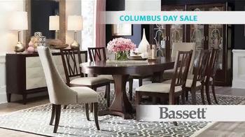 Bassett Columbus Day Sale TV Spot, 'Susan: Half Off Dining Tables' - Thumbnail 4