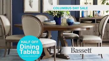 Bassett Columbus Day Sale TV Spot, 'Susan: Half Off Dining Tables' - Thumbnail 5