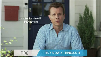 Ring Wi-Fi Video Doorbell TV Spot, 'Crime Prevention' - Thumbnail 1