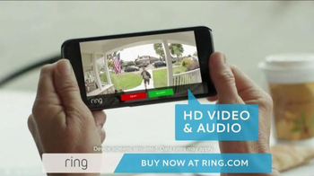 Ring Wi-Fi Video Doorbell TV Spot, 'Crime Prevention' - Thumbnail 5
