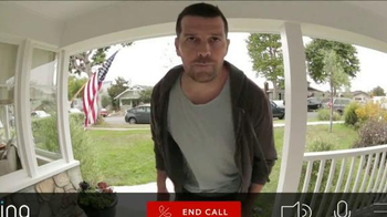Ring Wi-Fi Video Doorbell TV Spot, 'Crime Prevention' - Thumbnail 7