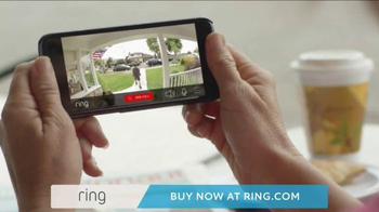Ring Wi-Fi Video Doorbell TV Spot, 'Crime Prevention' - Thumbnail 9
