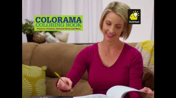 Colorama Books TV Spot, 'Relax and Create' - Thumbnail 1