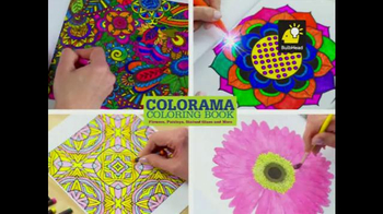 Colorama Books TV Spot, 'Relax and Create' - Thumbnail 3
