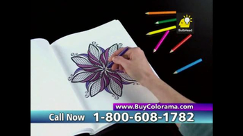 Colorama Books TV Spot, 'Relax and Create' - Thumbnail 6