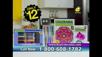 Colorama Books TV Spot, 'Relax and Create' - Thumbnail 8