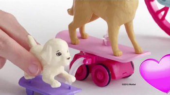 Barbie Spin 'n Ride Pups TV Spot, 'Take a Puppy for a Spin' - Thumbnail 2