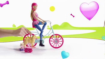 Barbie Spin 'n Ride Pups TV Spot, 'Take a Puppy for a Spin'