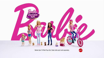 Barbie Spin 'n Ride Pups TV Spot, 'Take a Puppy for a Spin' - Thumbnail 6