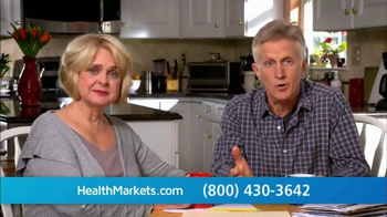 HealthMarkets TV Spot, 'Enrollment Open Now' - 370 commercial airings