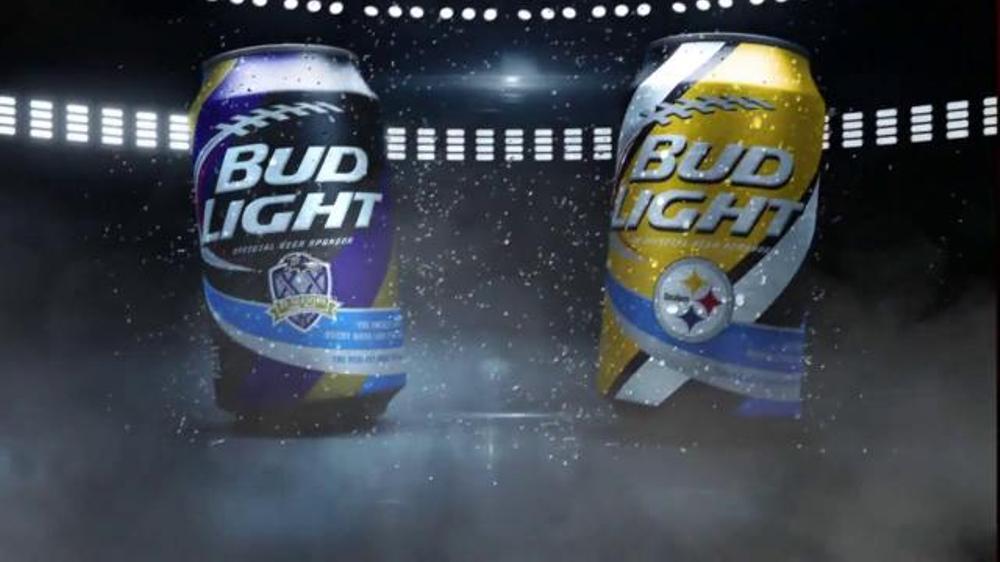 Bud Light TV Commercial, 'My Team Can: Ravens vs. Stealers'