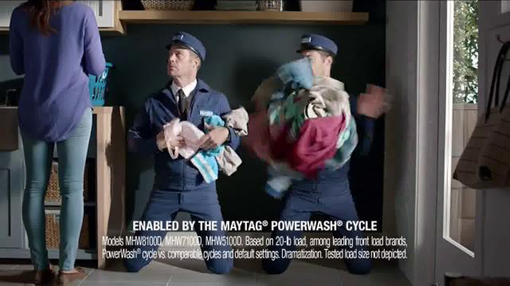 Maytag Washers Amp Dryers Tv Commercial Tough Loads