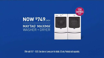 Maytag Washers & Dryers TV Spot, 'Tough Loads' Featuring Colin Ferguson - Thumbnail 9
