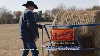 Wrangler Cool Vantage Jeans TV Spot, 'Hard Work and Sweat' - Thumbnail 10