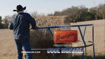 Wrangler Cool Vantage Jeans TV Spot, 'Hard Work and Sweat' - Thumbnail 9