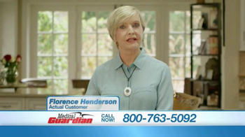 Medical Guardian TV Spot, 'Round the Clock Protection' - 2 commercial airings