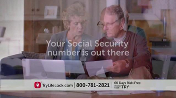LifeLock TV Spot, 'Identity Theft Risk' - Thumbnail 2