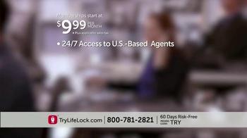 LifeLock TV Spot, 'Identity Theft Risk' - Thumbnail 7