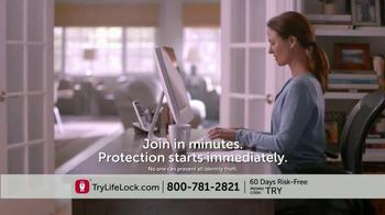 LifeLock TV Spot, 'Identity Theft Risk' - Thumbnail 8