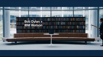 IBM Watson TV Spot, 'Bob Dylan & IBM Watson on Language' - Thumbnail 1