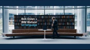 IBM Watson TV Spot, 'Bob Dylan & IBM Watson on Language' - Thumbnail 2
