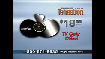 CopperWear Tensation TV Spot, 'Wireless Therapy' - Thumbnail 8