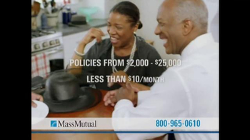 MassMutual Guaranteed Acceptance Life Insurance TV Spot, 'Protection' - Thumbnail 6