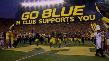 Michigan Athletics TV Spot, 'Be a Part of the Team' - Thumbnail 8