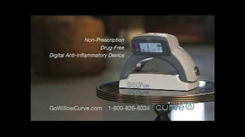 Willow Curve TV Spot, 'Try it Risk Free' Featuring Chuck Woolery - Thumbnail 3