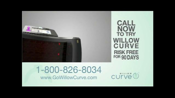 Willow Curve TV Spot, 'Try it Risk Free' Featuring Chuck Woolery - Thumbnail 7