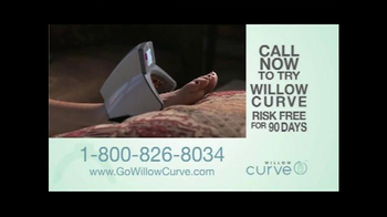 Willow Curve TV Spot, 'Try it Risk Free' Featuring Chuck Woolery - Thumbnail 8