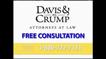 Davis & Crump, P.C. TV Spot, 'Pseudotumor' - Thumbnail 6