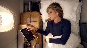 Emirates A380 TV Spot, 'Nightmare' Featuring Jennifer Aniston - 1099 commercial airings