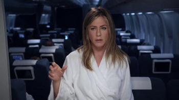 Emirates A380 TV Spot, 'Nightmare' Featuring Jennifer Aniston - Thumbnail 7
