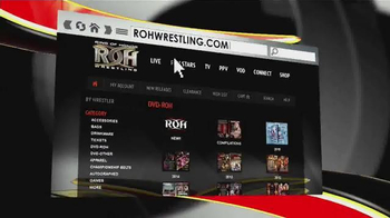 ROHWrestling.com TV Spot, 'DVDs and Videos on Demand' - Thumbnail 1