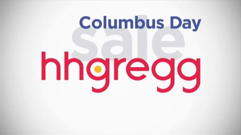 Hh Gregg Columbus Day Sale Tv Commercial Appliances Ispottv