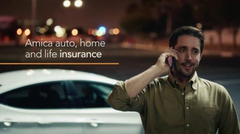 Amica Mutual Insurance Company TV Spot, 'Busted Side Mirror' - 45 commercial airings