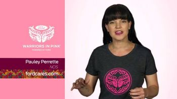 Ford Warriors in Pink TV Spot, 'NCIS: Pauley Perrette' - 3 commercial airings