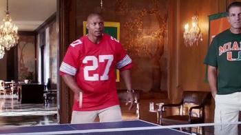 Nissan TV Spot, 'Heisman House: Quick Change: Marcus vs. Eddie' - Thumbnail 3