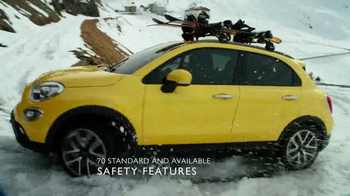 2016 FIAT 500X TV Spot, 'Groundhog'