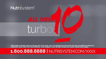 Nutrisystem Tubro10 Shakes TV Spot, 'B&A's First Step' - Thumbnail 8