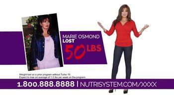 Nutrisystem Turbo 10 TV Spot, 'Sell It' Featuring Marie Osmond