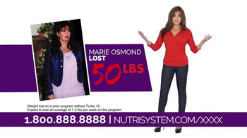 Nutrisystem Turbo 10 TV Spot, 'Sell It' Featuring Marie Osmond - 3741 commercial airings