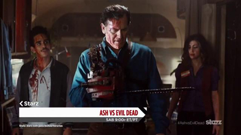 XFINITY Latino TV Spot, 'Ash vs. Evil Dead' [Spanish] - 17 commercial airings