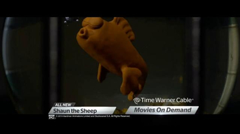 Time Warner Cable On Demand TV Spot, 'Shaun the Sheep and Snow Queen' - Thumbnail 4