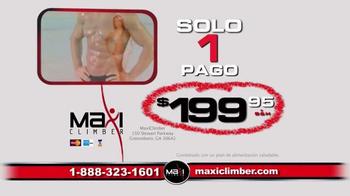 MaxiClimber TV Spot, 'Rutina de ejercicio' [Spanish] - Thumbnail 8