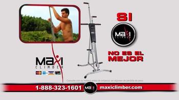 MaxiClimber TV Spot, 'Rutina de ejercicio' [Spanish] - Thumbnail 9