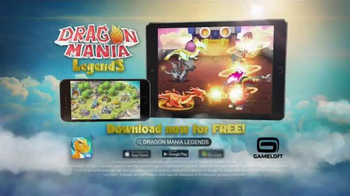 Dragon Mania Legends TV Spot, \'CGI\'