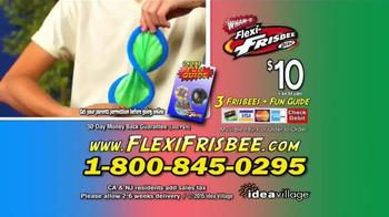 Flexi-Frisbee Disc TV Spot, 'Flying Discs' - Thumbnail 9